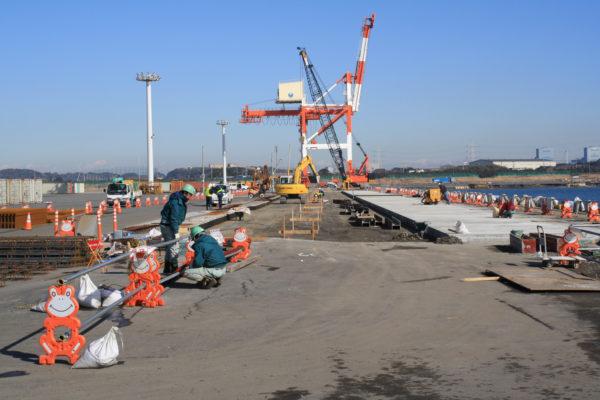 北公共埠頭修復工事